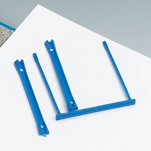 Image of 5 Star Filing Clip / Polypropylene / Blue / Pack of 10