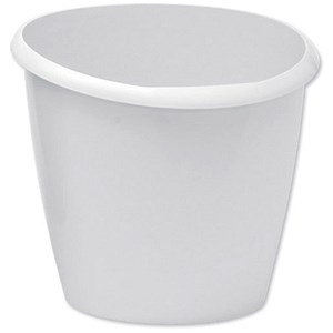 Image of 5 Star Bin Polypropylene 16 Litres W300xD363xH323mm Grey