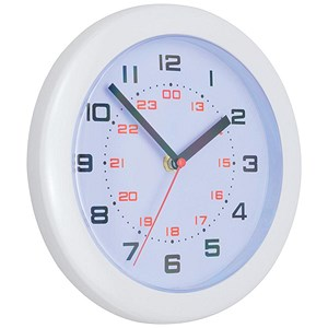 Image of Controller Wall Clock Diameter 250mm White