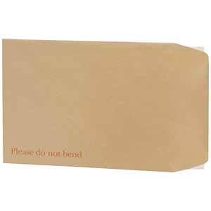 Image of 5 Star Board-backed Envelopes / 444x368mm / Peel & Seal / Manilla / Pack of 50