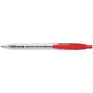 Image of 5 Star Ball Pen Retractable / Red / Pack of 10