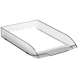 Image of CEP Premier Letter Tray / Foolscap / W270xD370xH61mm / Black Ice