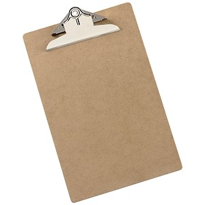 Image of 5 Star Rigid Hardboard Clipboard - Foolscap