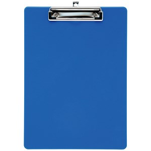 Image of 5 Star Plastic Clipboard / Durable with Rounded Corners / A4 / Blue