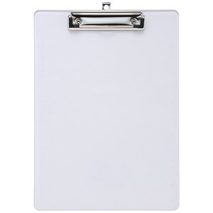 Image of 5 Star Plastic Clipboard / Durable with Rounded Corners / A4 / Clear