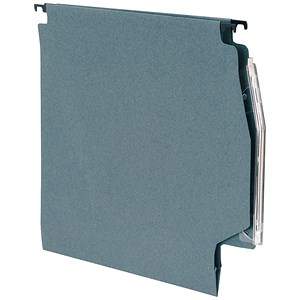 Image of 5 Star Lateral Files with Tabs & Inserts / 275mm Width / Green / Pack of 50