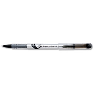 Image of 5 Star Rollerball Pen / Liquid / Fine / 0.7mm Tip / 0.5mm Line / Black / Pack of 12