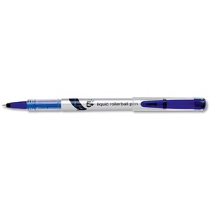 Image of 5 Star Rollerball Pen / Liquid / Fine / 0.7mm Tip / 0.5mm Line / Blue / Pack of 12