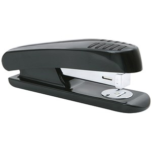 Image of 5 Star Half Strip Stapler - Plastic / 20 Sheet Capacity / Black