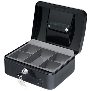 Image of 5 Star Cash Box - 8 Inch - Black