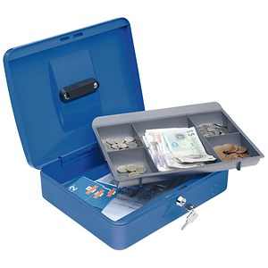 Image of 5 Star Cash Box - 12 Inch - Blue