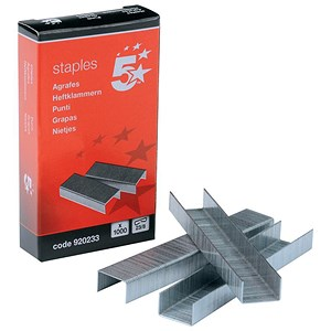 Image of 5 Star 23-8 Staples - Box of 1000