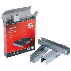 Image of 5 Star 23-12 Staples - Box of 1000