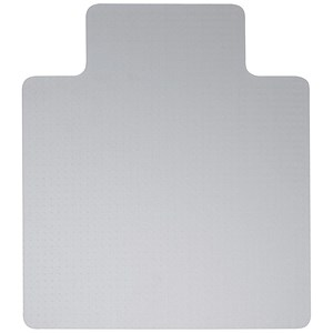 Image of 5 Star Chair Mat Hard Floor Protection PVC W1150xD1340mm Clear/Transparent