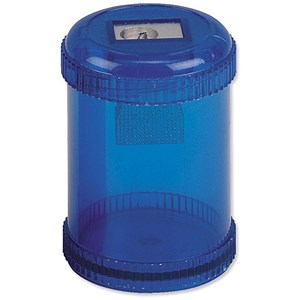 Image of 5 Star Pencil Sharpener / Plastic Canister / Maximum Pencil Diameter 8mm / 1 Hole