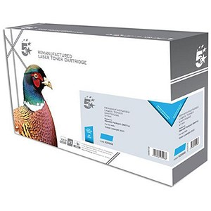 Image of 5 Star Compatible - Alternative to HP 502A Cyan Laser Toner Cartridge