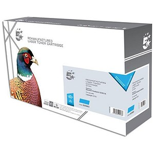 Image of 5 Star Compatible - Alternative to HP 643A Cyan Laser Toner Cartridge