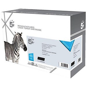 Image of 5 Star Compatible - Alternative to HP 643A Black Laser Toner Cartridge