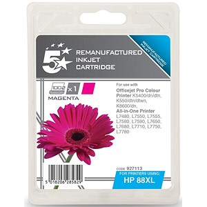 Image of 5 Star Compatible - Alternative to HP 88XL Magenta Ink Cartridge