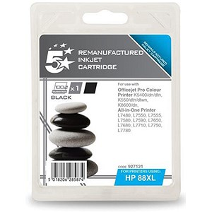 Image of 5 Star Compatible - Alternative to HP 88XL Black Ink Cartridge