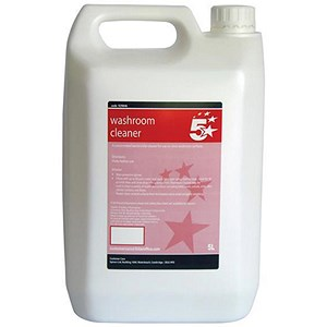 Image of 5 Star Concentrated Washroom Cleaner & Sanitiser - 5 Litres