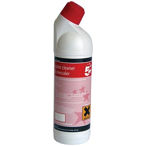 Image of 5 Star Toilet Cleaner - 1 Litre