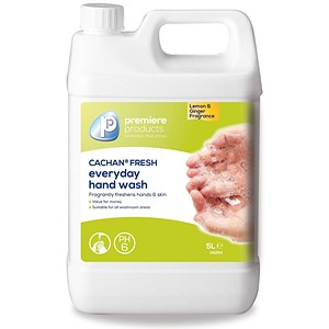 Image of Cachan Fresh Handwash / Lemon & Ginger / 5 Litre
