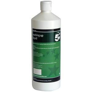 Image of 5 Star Washing Up Liquid - 1 Litre