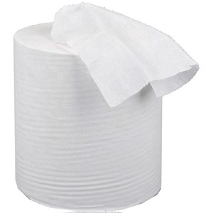 Image of 5 Star Centrefeed Tissue Refill / 2-Ply / White / 6 Rolls