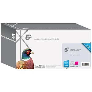 Image of 5 Star Compatible - Alternative to HP 504A Magenta Laser Toner Cartridge