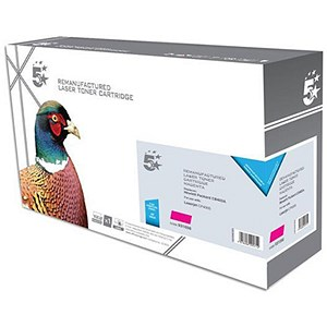 Image of 5 Star Compatible - Alternative to HP 642A Magenta Laser Toner Cartridge
