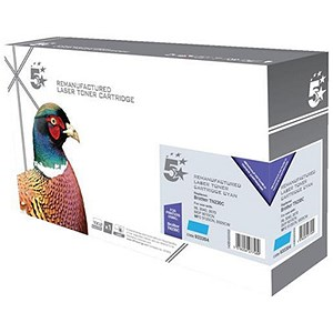 Image of 5 Star Compatible - Alternative to Brother TN230C Cyan Laser Toner Cartridge