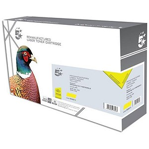 Image of 5 Star Compatible - Alternative to Samsung CLT-Y4072S Yellow Laser Toner Cartridge