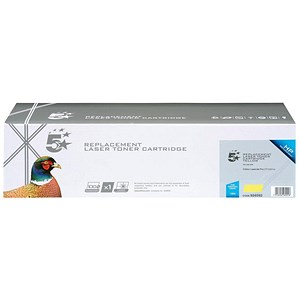 Image of 5 Star Compatible - Alternative to HP 126A Yellow Laser Toner Cartridge