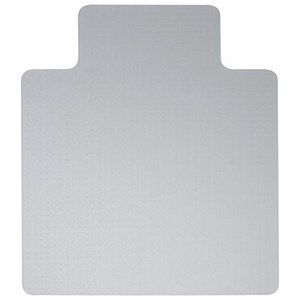 Image of 5 Star Polycarbonate Carpet Chairmat / Lipped / 1200x1340mm
