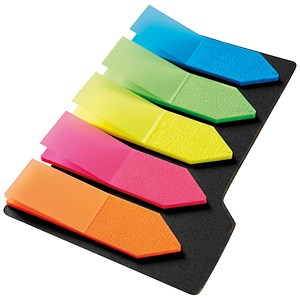 Image of 5 star Index Arrows / Small / 5 Bright Colours / Pack of 5 x 20