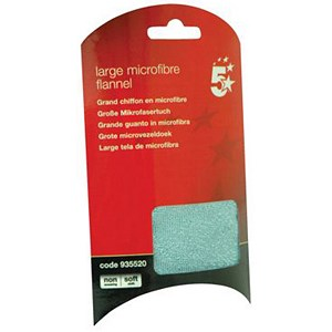 Image of 5 Star Large Washable Microfibre Flannel
