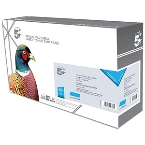 Image of 5 Star Compatible - Alternative to HP 507A Cyan Laser Toner Cartridge