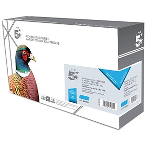 Image of 5 Star Compatible - Alternative to HP 131A Cyan Laser Toner Cartridge