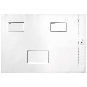 Image of 5 Star C3 Opaque Polythene Envelopes / Peel & Seal / Pack of 100