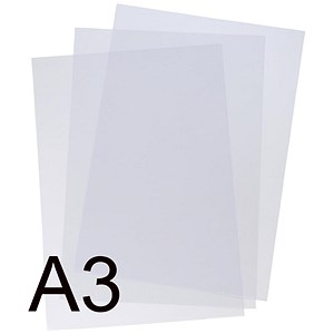 Image of 5 Star Binding Covers / A3 / Clear / Pack of 100