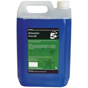 Image of 5 Star Dishwasher Rinse Aid - 5 Litres