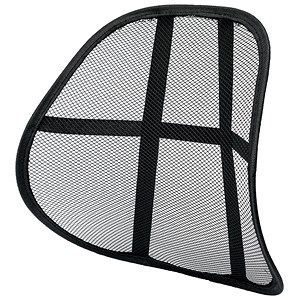 Image of 5 Star Mesh Back Rest - Black