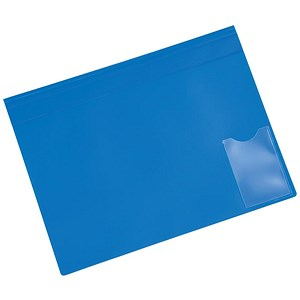 Image of 5 Star A4 Executive Flat File / Blue / Pack of 5