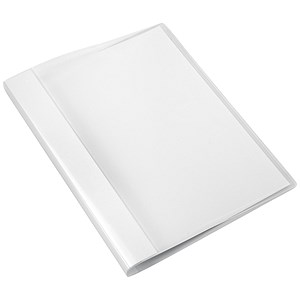 Image of 5 Star Polypropylene Clamp Binders / Capacity: 100 Sheets / Clear / Pack of 10
