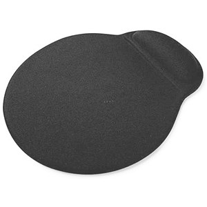 Image of 5 Star Eco Mouse Pad / Recycled / Black
