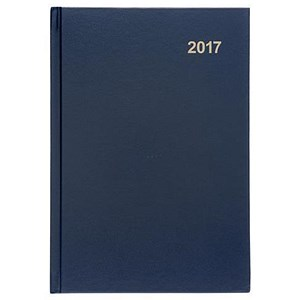 Image of 5 Star 2017 Diary / 2 Days to Page / A5 / Blue