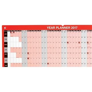 Image of 5 Star 2017 Year Planner - Mounted