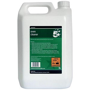 Image of 5 Star Oven Cleaner - 5 Litres