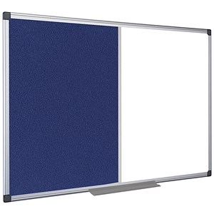 Image of 5 Star Combination Whiteboard / Dual Surface / 900x600mm